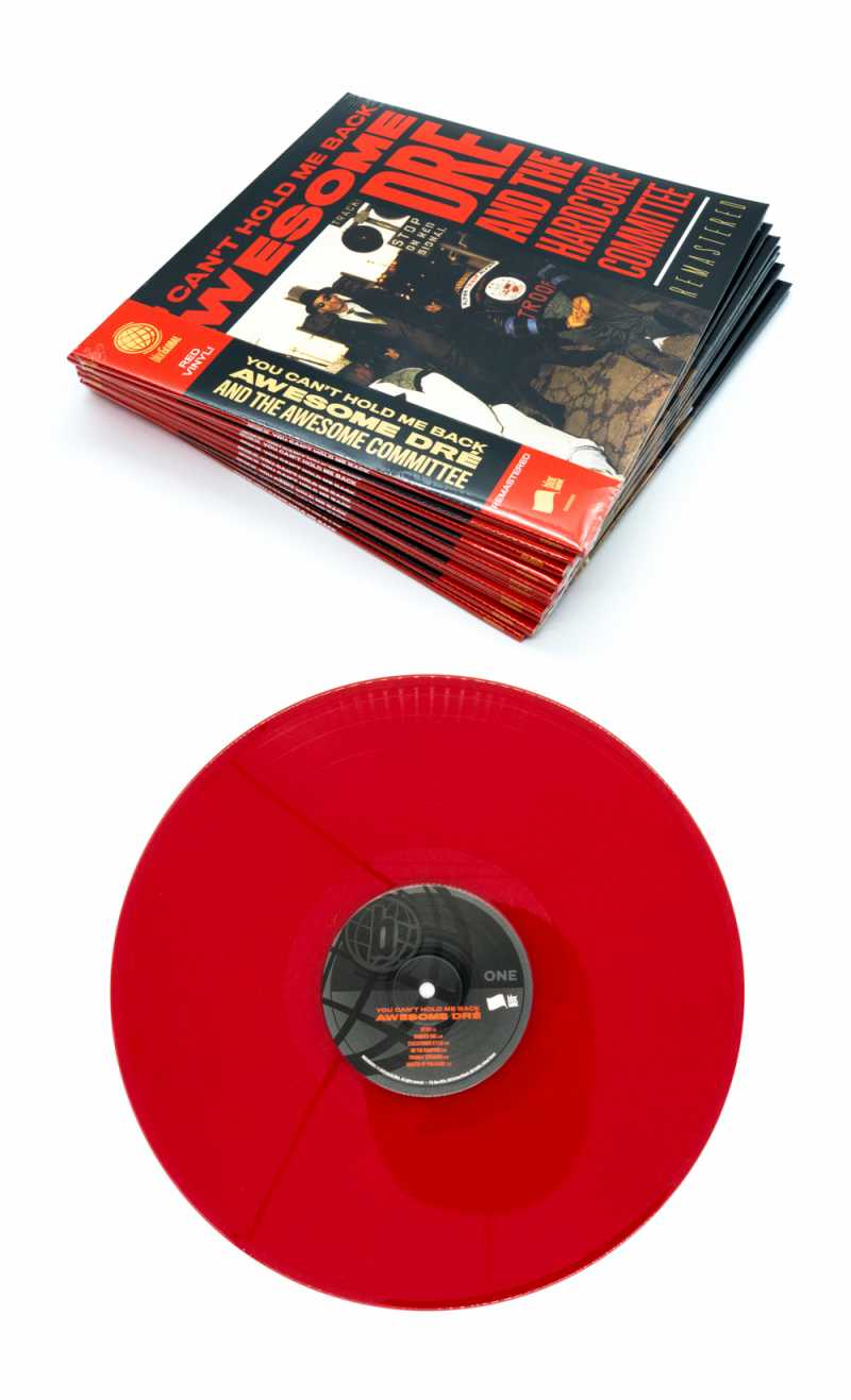 """Preview of """"You Can't Hold Me Back (30th Anniversary Remastered Edition)"""" physical album"""