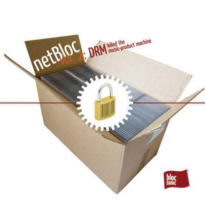 """Cover of """"netBloc Volume 2 (DRM killed the music-product machine)"""" by Various Artists"""