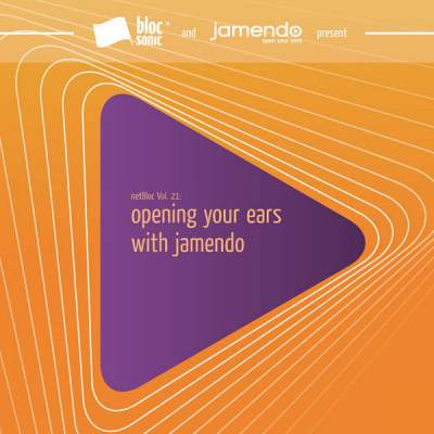"Cover of ""netBloc Volume 21 (opening your ears with jamendo)"" by Various Artists"