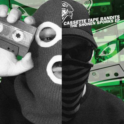 "Cover of ""The Shonen Sporks EP"" by Cassette Tape Bandits"