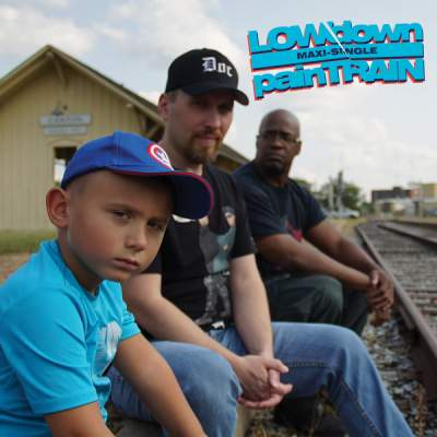 "Cover of ""painTRAIN"" by LOWdown"