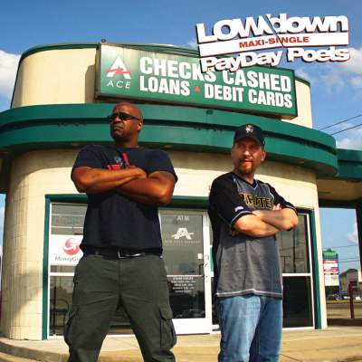 """Cover of """"PayDay Poets"""" by LOWdown"""