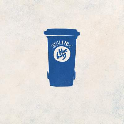 "Cover of ""Blue Bins"" by Cheese N Pot-C"