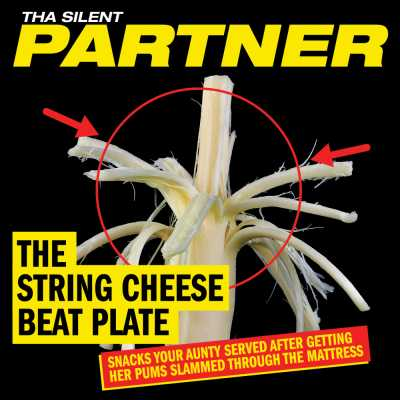 """Cover of """"The String Cheese Beat Plate"""" by Tha Silent Partner"""